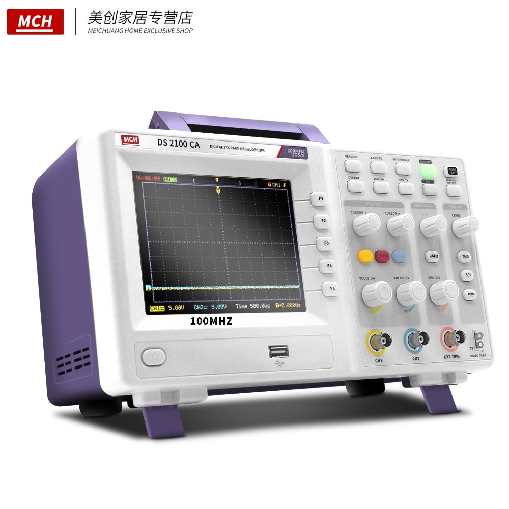 Digital Storage Oscilloscope Double Channel Oscilloscope 100M Oscilloscope 200M