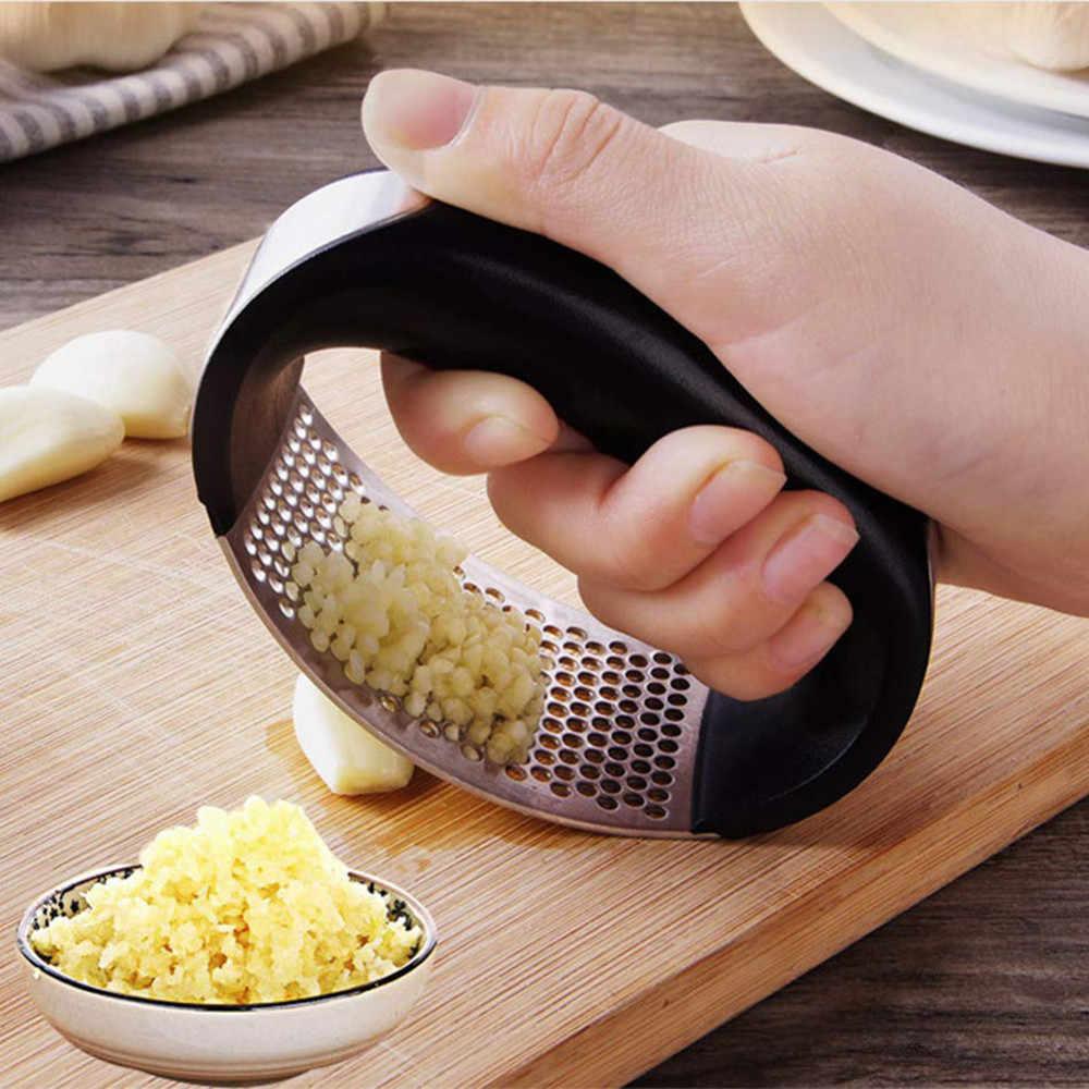 1pc ręczne urządzenie do siekania żywności czosnek szlifowanie krajalnica prasy do czosnku kruszarka do imbiru Cutter gadżety do gotowania narzędzia kuchenne akcesoria L2