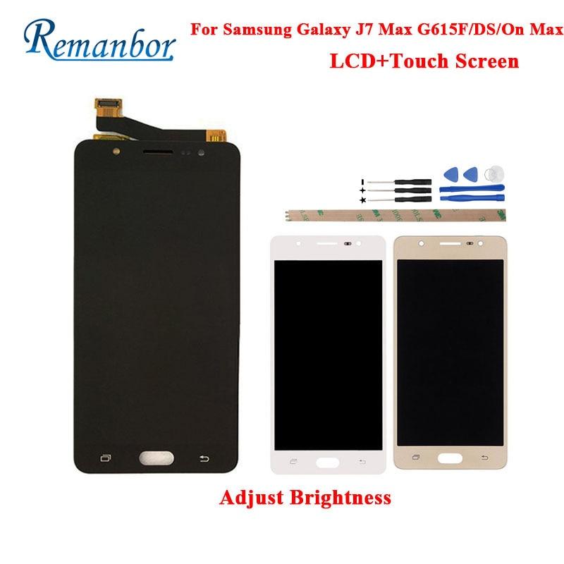 Remanbor pour Samsung Galaxy J7 Max G615F/DS LCD écran tactile pièces de réparation parfaites pour Samsung Galaxy sur Max LCD + outils