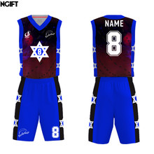 923d892f3 Ngift Hot mens breathable basketball jerseys sublimation customizing sports  wear basketball sleeveless uniforms DIY jerseys(