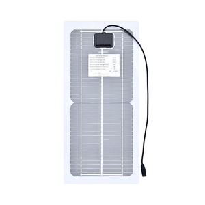 Image 3 - 18V 10W Monocrystalline 솔라 패널 + 10A 충전 컨트롤러 배터리 충전기 + LED RV 자동차 보트 관광 태양 램프 3W