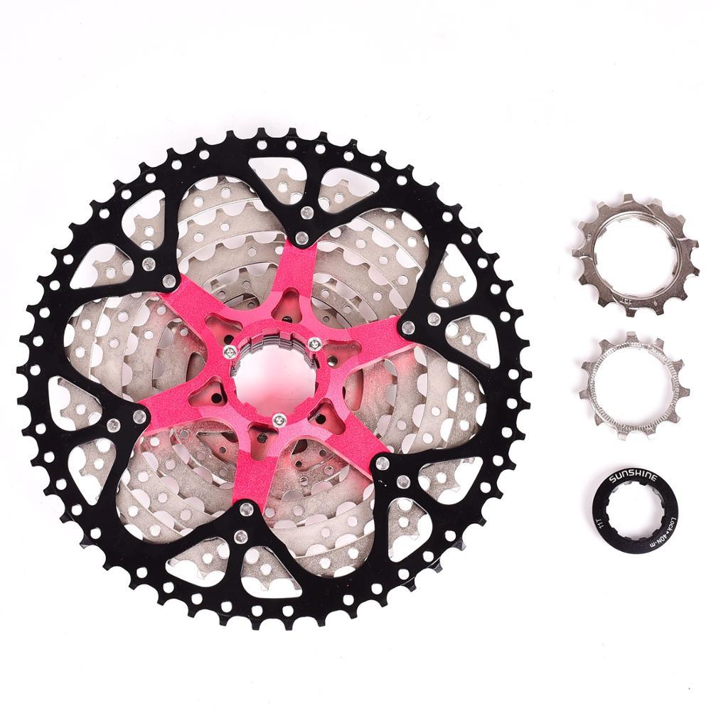 SUNSHINE-SZ 9 vitesses Cassette 11-50 T VTT rapport large vtt vélo 9 S roue libre Compatible avec M430 M4000 M590 roue libre - 5
