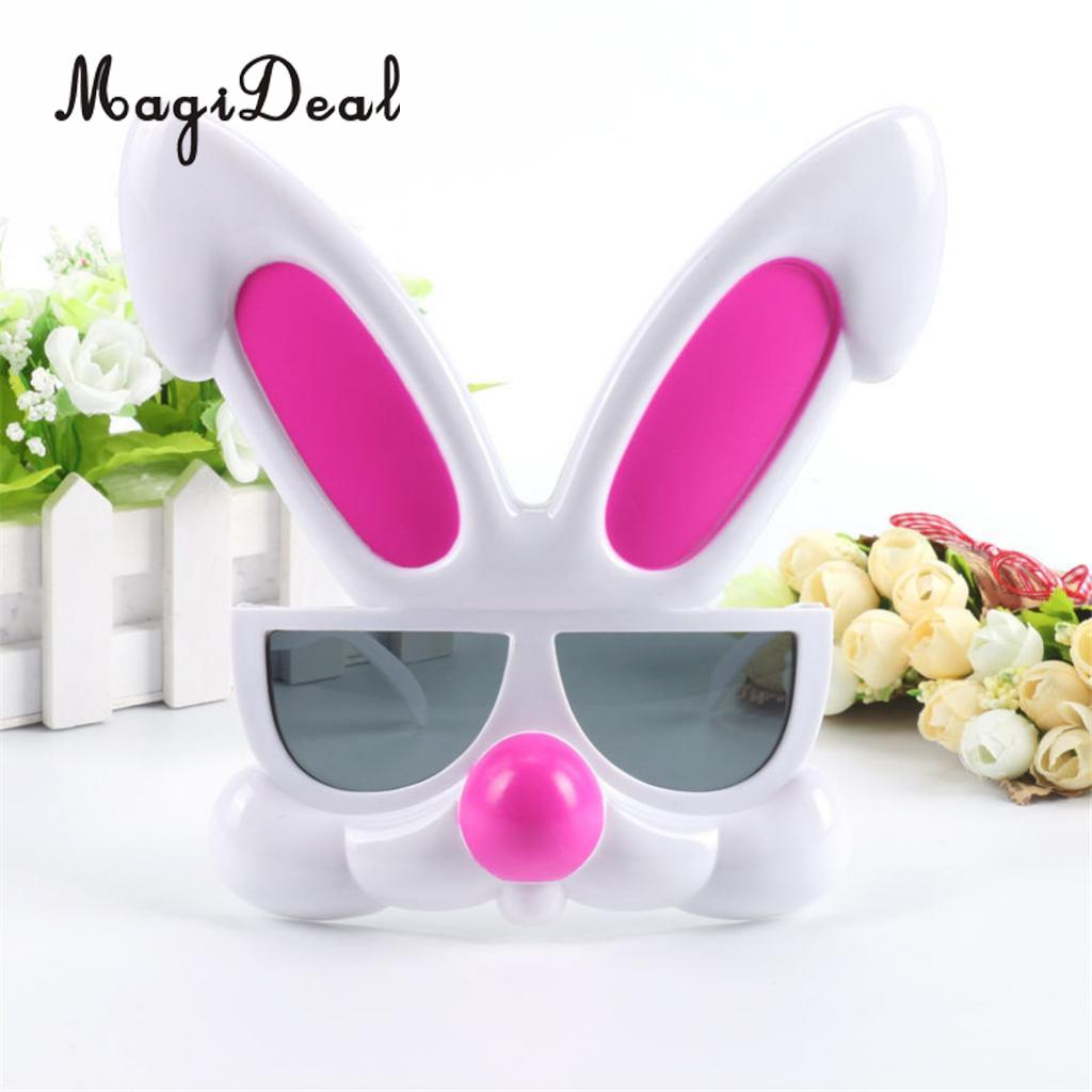 bb3ca51dda9 Lovely Pink Rabbit Plastic Glasses Eyeglasses Eye Mask Funny Party Fancy  Dress Novelty Gift