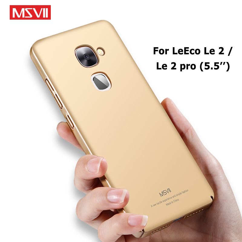 Letv LeEco Le 2 Pro Case Cover Msvii Slim Frosted Cases For LeEco Le S3 Case Le Eco Le2 Pro Hard PC Cover For Letv Le S3 Cases