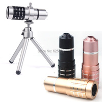 Universal Clip Camera 12X Telephoto Zoom Lens for all Android IOS Mobile Phones