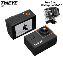 """THiEYE I20 Waterproof Sport Action Video Camera 1080P 30fps 2.0"""" LCD 170D Underwater 40M Helmet Cam Sports Camera With Battery"""