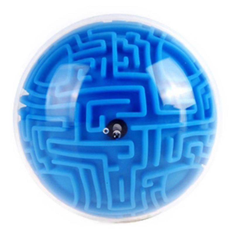 Children Creative Transparent Puzzle Toy 3d Labyrinth Ball Crystal Ball Cube Maze Game Puzzle Toy