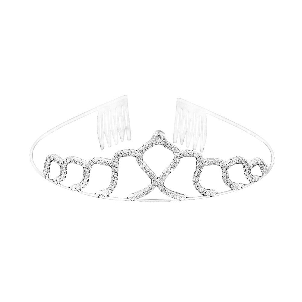 1 Pc Braut Headwear Kristall Stilvolle Welle Förmigen Haar Hoop Headwear Crown Kämme Haar Zubehör Für Hochzeit Party Kunden Zuerst