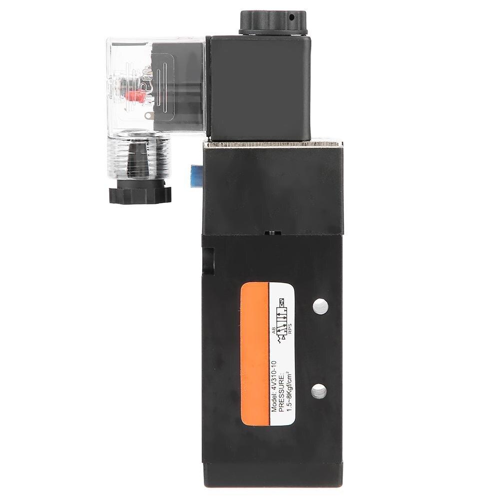 G3/8 4v310-10 Elektromagnetische Ventil 2 Position 5 Port Pilot-betrieben Magnetventil Dauerhaft Im Einsatz Sanitär