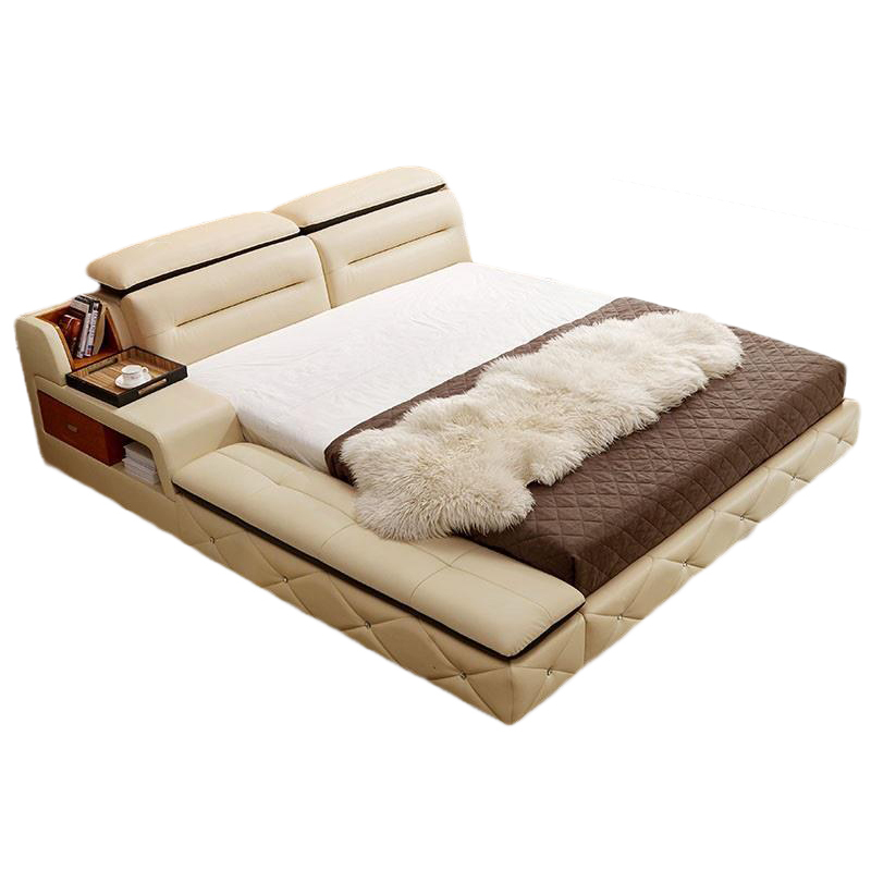 Letto A Castello Mobilya Modern Home Single Lit Enfant Set Leather Cama Moderna Bedroom Furniture Mueble De Dormitorio Bed Buy At The Price Of 3 764 06 In Aliexpress Com Imall Com