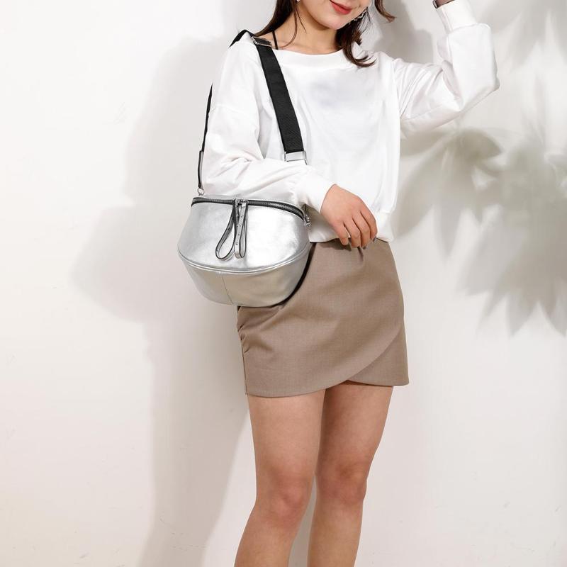Soft PU Leather Women Crossbody Shoulder Bags Solid Color Design Shell Messenger Handbags Bolso Femenino 2019 Hot Selling