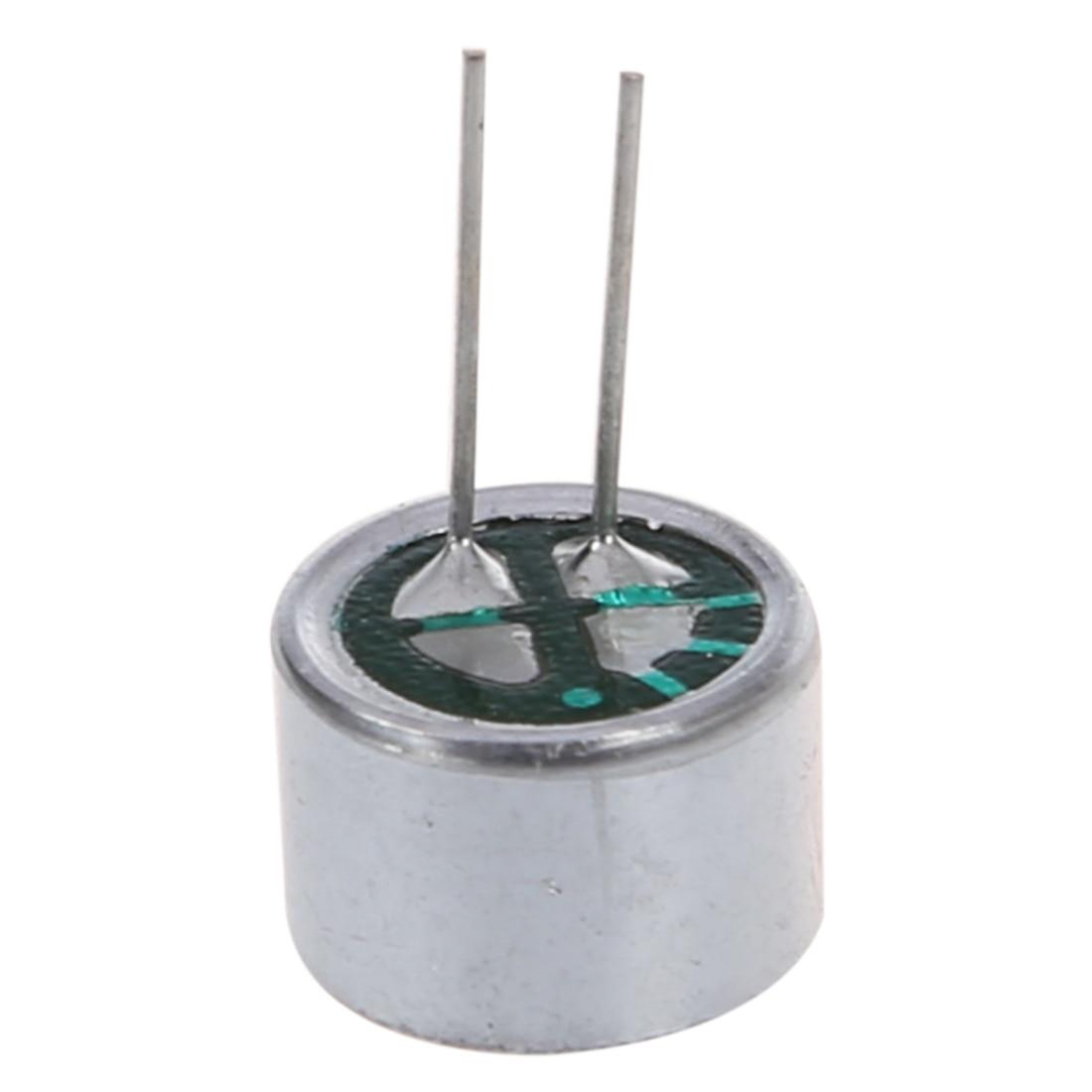 10 PCS 9.7mm X 7mm 2 Pin MIC Capsule Electret Condenser Miniphone