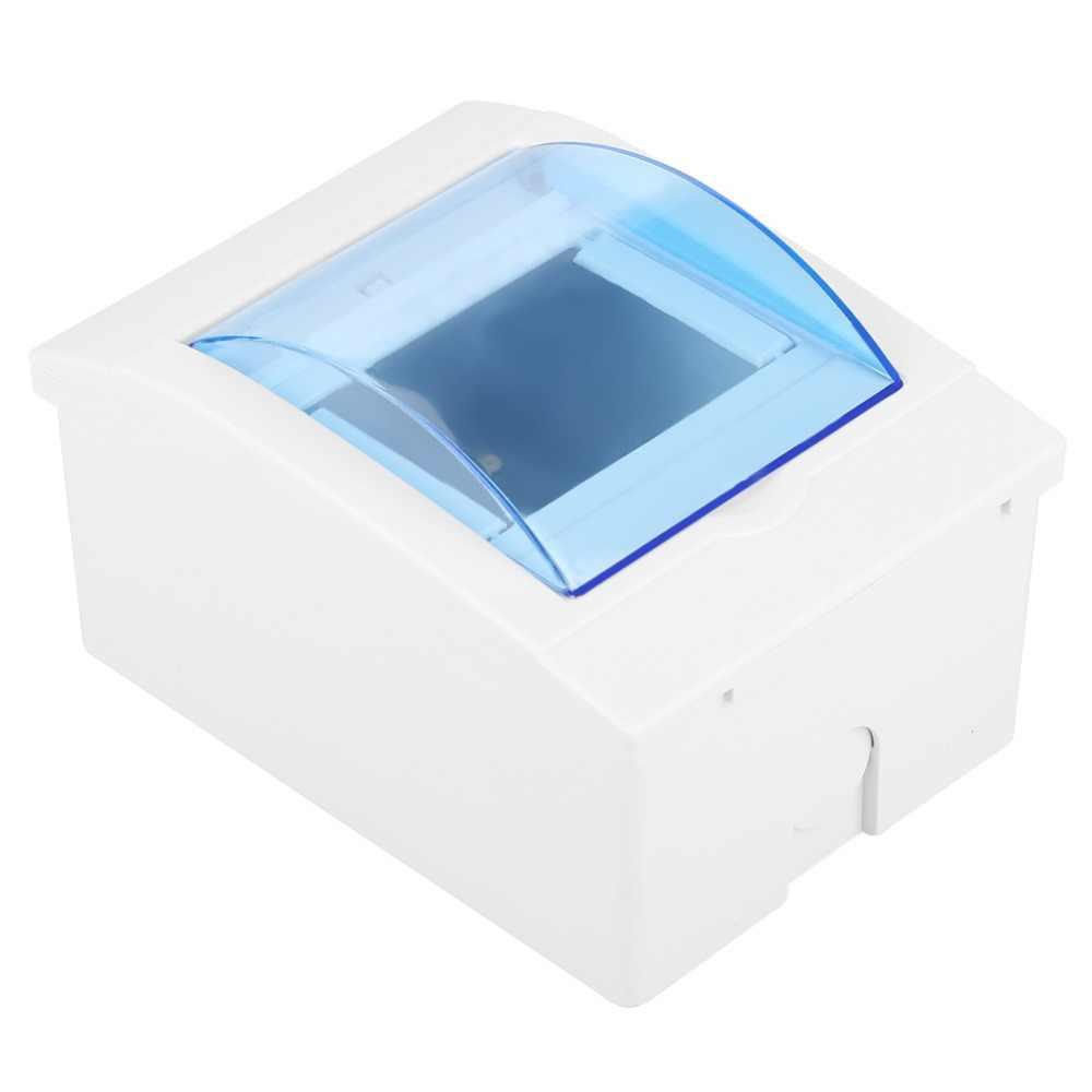 3-4 способа Пластиковая распределительная коробка защитная коробка для выключателя цепи внутри на стене