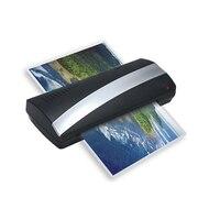 Ламинатор Машина A4 фото ламинирование A4 плёнки Plastificadora бумажная пленка документ термальность горячей и холодной с двумя роликами быстрый