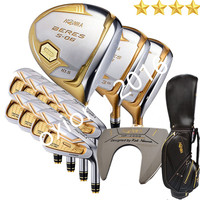 New Golf clubs HONMA S 06 4star Compelete club set Driver+3/5 fairway wood+irons+putter and Graphite Golf shaft Nobag