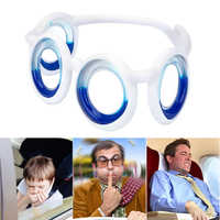 LEEPEE Unisex Smart Seasick Airsick Liquid Glasses Anti-motion Sickness Glasses Removable Portable Lens-Free Folding