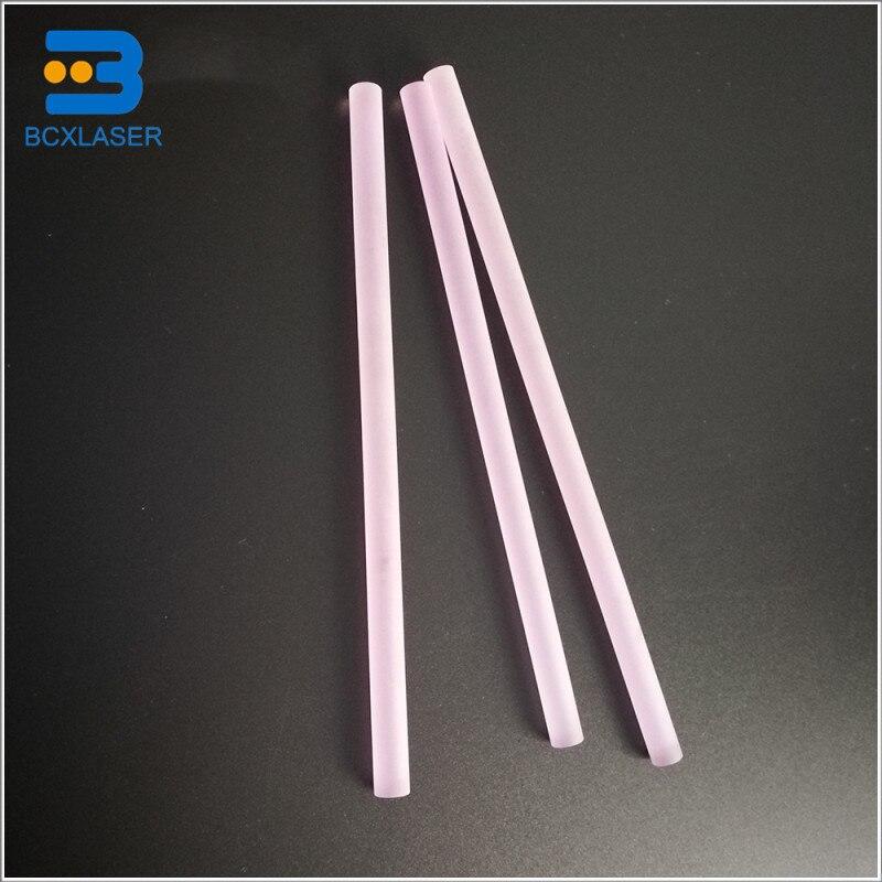 8*145 Laser Crystal ND Yag Rod For Laser Cutting Machine