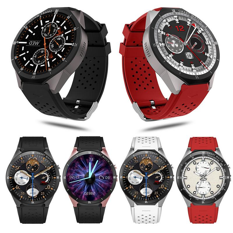 Smart Watch Android 7.0 1.3Ghz Quad-Core 16GB WIFI GPS 2MP Camera Heart rate monitor 3G Smart Watch Mobile Phone for IOS Android gone with the wind