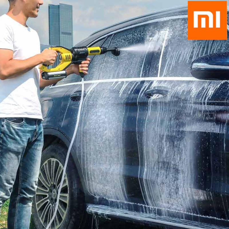 Xiaomi JIMMY JW31 Car Flush Gun Washing Gun JW31 Wireless Cordless Water Power Cleaner Garden Washer