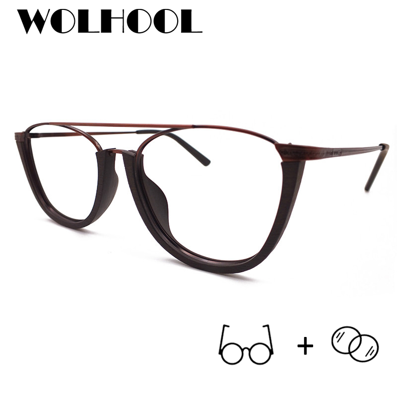 Mann Progressive Myopie Rahmen Quadrat Gläser Photochrome Dioptrien Brillen Halb 10 Mit Acetat 19 pqx5v5
