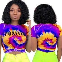 2019 Hot Sale Women Crop Top T-shirt Short Sleeve Tee Shirt Femme New Fashion Short Sleeve Summer Tops Tee Street Wear недорого
