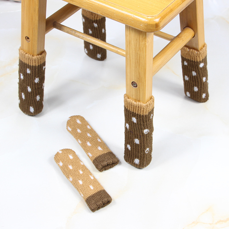 4Pcs/set Tables Chairs foot Cover Double-Layer Wear-Resistant Furniture Mute Household Wood Floor Protection Pad Chair Stool4Pcs/set Tables Chairs foot Cover Double-Layer Wear-Resistant Furniture Mute Household Wood Floor Protection Pad Chair Stool