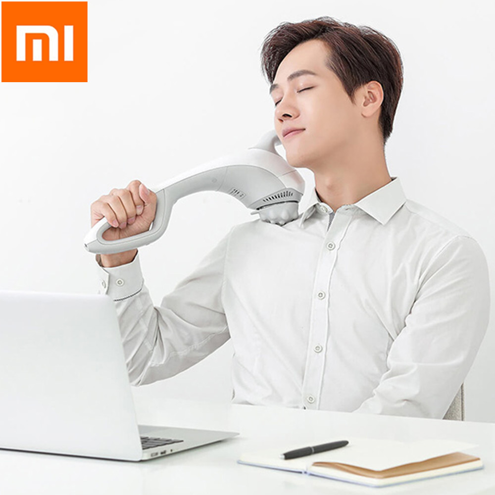 Xiaomi Youpin LERAVAN Wireless Handheld Massage Stick With 5 Speeds Adjustable Ergonomic Design Hand With 3 Replaceable HeadsXiaomi Youpin LERAVAN Wireless Handheld Massage Stick With 5 Speeds Adjustable Ergonomic Design Hand With 3 Replaceable Heads