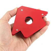 HLZS-25LB Magnetic Welding Holder Arrow Shape for Multiple Angles Holds Up to for Soldering Assembly Welding Pipes Installatio