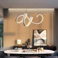 Lightchord светодио дный современные светодиодные акриловые украшения подвесные светильники кухня светильники блеск внутреннего освещения ла