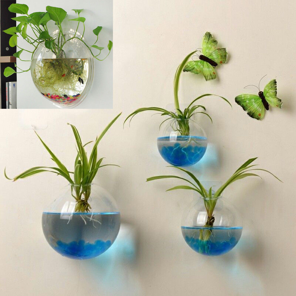 Hanging Flower Pot Gl Ball Vase