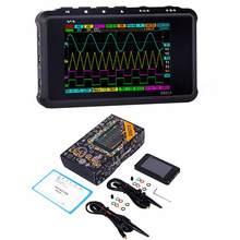 Dso213 100 ms/s taxa de amostragem 4 canais ds213 mini dso bolso tamanho digital osciloscópio atualização de dso203 ds203 dso212 ds212