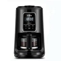 Кофемашина DL KF1061 Малогабаритный бытовой полностью автоматический для кастрюль Непрерывная система кипения капельная Коммерческая