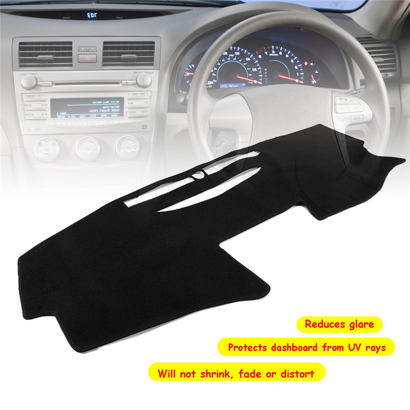 Dashmat Car Dash Carpet Mat For Toyota Camry 2007-2011 Dashboard Sun Cover RHD Protects UV Rays Eliminates Crack Dissipate Heat