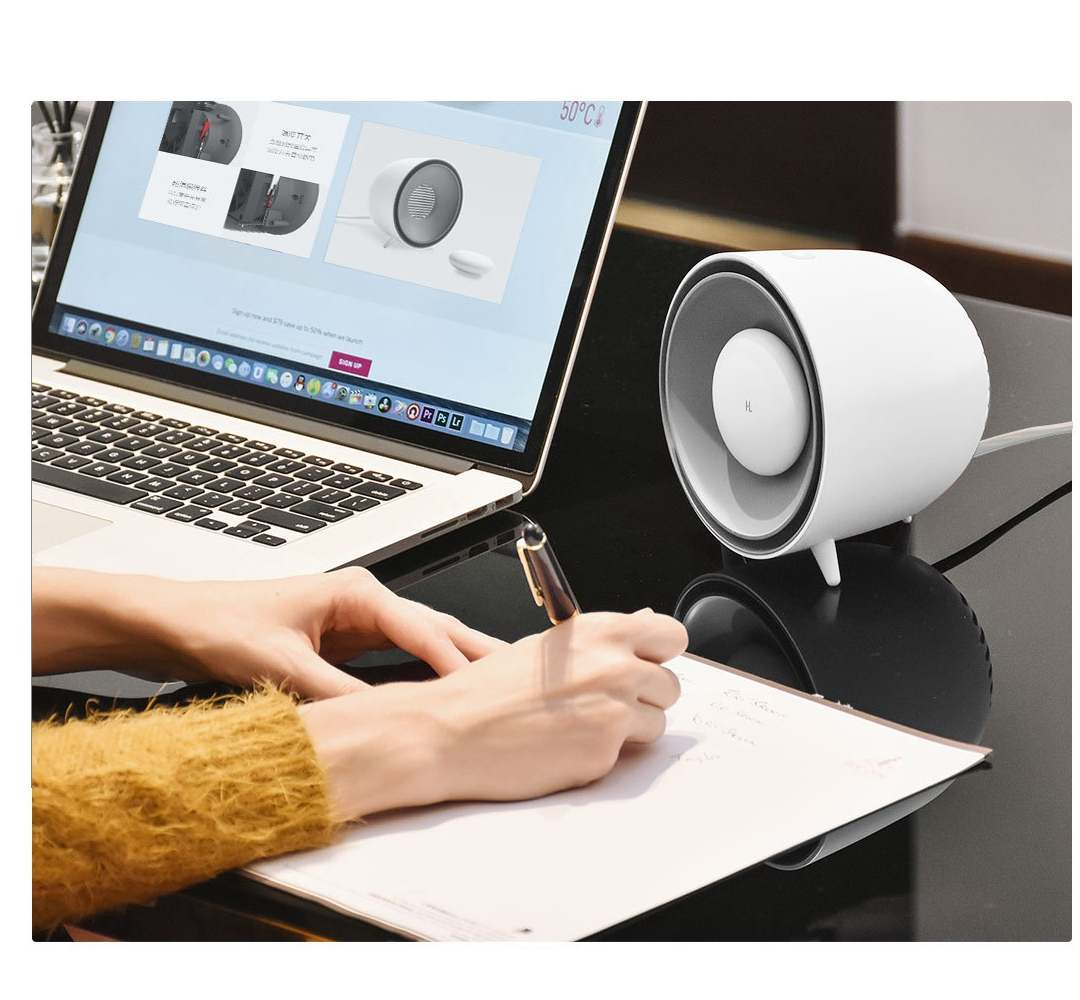 Image 4 - YOUPIN Happy Life Mini Electric Heater PTC Fast Heating W/ Protable Hand Warmer-in Electric Heaters from Home Appliances