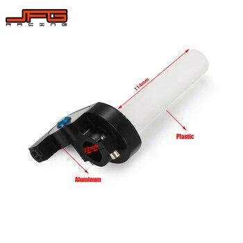 Empuñaduras universales de acelerador para motocicleta, asimiento y giro de acelerador de Gas, empuñadura de Dirt Pit Bikes para ATV 50cc-160cc ATV GPX SDG XR50 CRF50