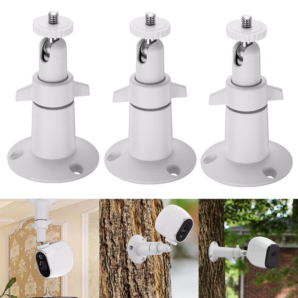 3 PCS Security Wall Mount For Arlo Or Pro Camera Adjustable Indoor Outdoor Cam