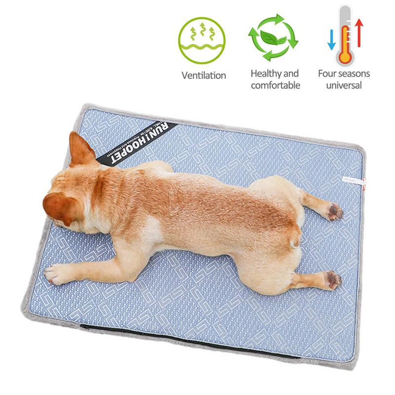 Fashion Rattan Cooling Mat Dog Dual Use Mat Spring Autumn Warm Pad Summer Cooling Pad Used On Floors Sofas Pet Nests CarsFashion Rattan Cooling Mat Dog Dual Use Mat Spring Autumn Warm Pad Summer Cooling Pad Used On Floors Sofas Pet Nests Cars