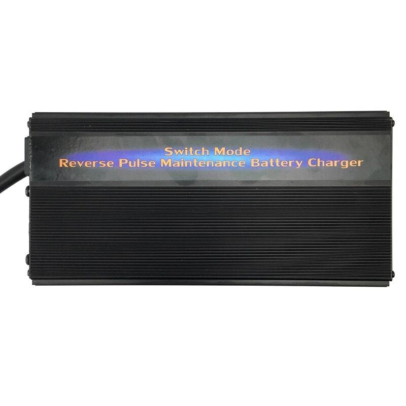 12 v 50A Puissant Camion Camion Batterie Chargeur Responsable Desulfator 7-étape Impulsion Sans Entretien Batterie Chargeur pour 200-600AH