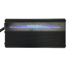 12V 50A Powerful Lorry Truck Battery Charger Maintainer Desulfator 7-step Pulse Maintenance-free Battery Charger for 200-600AH цены