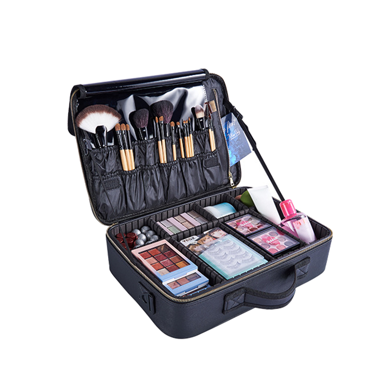 Home & Garden Honest High Quality Pu Makeup Organizers Women Professional Cosmetic Case Beauty Travel Large Capacity Toiletry Wash Suitcases Supplies Home Storage & Organization