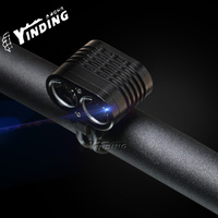 2200 Lm 2 x XML2 U2 U3 LED High /Medium /Low /Strobe 3 Modes Bicycle Lamp Waterproof flashlight headlamp Accessories