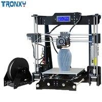 TRONXY P802M DIY 3d принтер комплект 220*220*240 мм размер печати Поддержка Off line печать 1,75 мм 0,4 мм 3d принтер