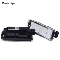 replacement car 2x 18SMD Car LED Number License Plate Light Direce Replacement Lamp For Renault Clio Megane Twingo II Lagane II Vel Satis Master (4)
