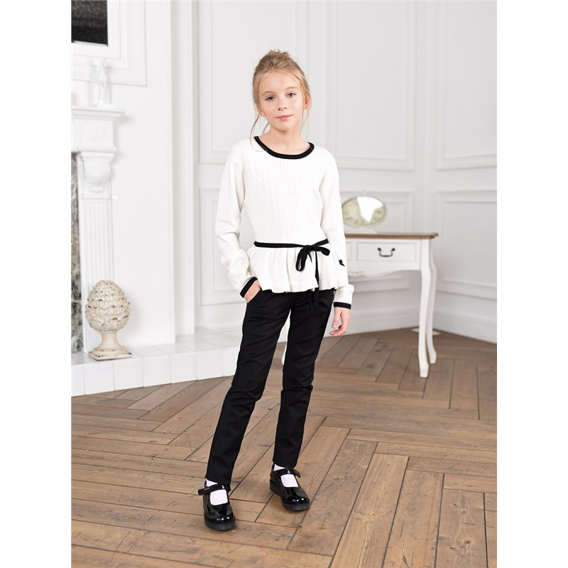 Pants & Capris Sweet BerrySewing pants for girls children clothing girls contrast tape pants