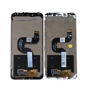 "Image 4 - 원래 Axisinternational 5.99 ""Xiaomi Mi A2 MIA2 LCD 디스플레이 화면 + Mi 6X MI6X M6X 용 프레임이있는 터치 패널 디지타이저"