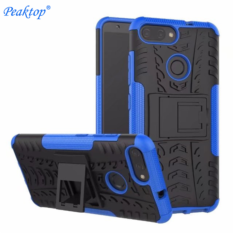 Peaktop Hard Armor Case For Asus ZenFone Max Plus M1 Case Cover Protection Phone Case for Asus ZenFone Max Plus M1 ZB570TL case
