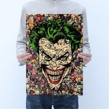 Decoration Stickers Posters Painting Kraft-Paper Comics Classic Vintage Wall