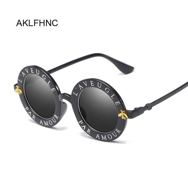 Little Bee Retro Round Sunglasses 1
