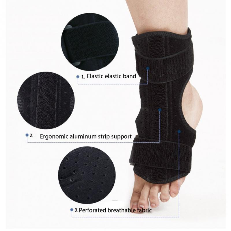 Image 5 - Plantar Fasciitis Dorsal Night & Day Splint Foot Orthosis Stabilizer Adjustable Drop Foot Orthotic Brace Support Pain Relief-in Foot Care Tool from Beauty & Health