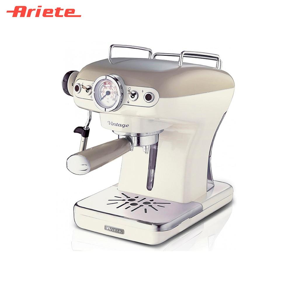 Coffee Makers Ariete 8003705113923 Home Appliances Kitchen Appliances maker machine capucino espresso late стоимость